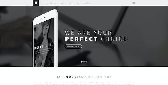 Heli - A Creative Multipurpose PSD Template