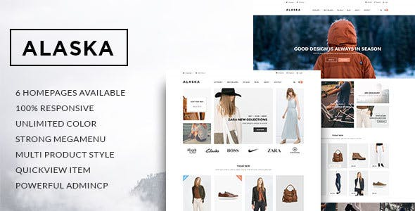 Leo Alaska - Multipurpose PrestaShop 1.6 & 1.7 Theme for Fashion Shop | Clothes and Shoes