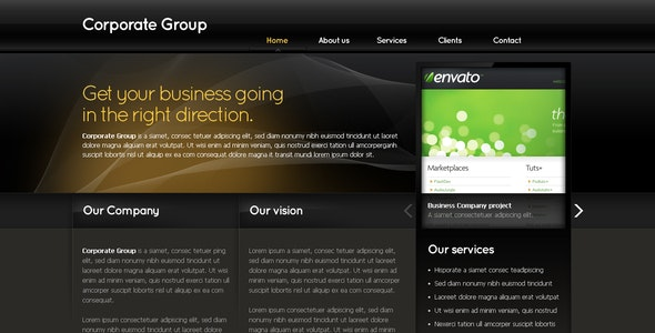 Business Template #03 - Business Corporate