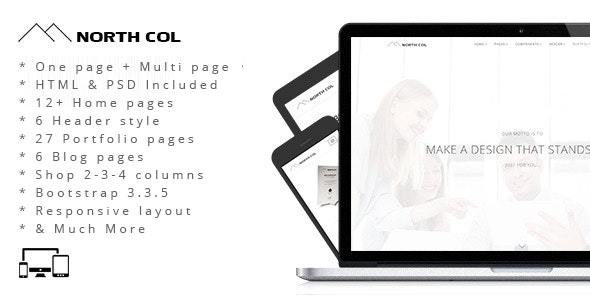 North Col - MultiPurpose Drupal 7 Theme - Business Corporate