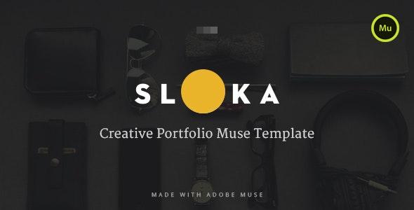 Sloka - Muse Template - Personal Muse Templates