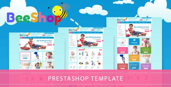 BeeStore - Responsive Prestashop Kids Theme - Shopping PrestaShop