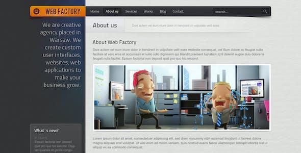 Web factory - Modern & Unique HTML Template