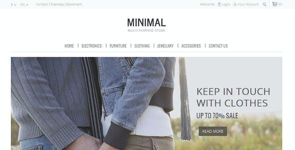 Minimal Multi Purpose - Prestashop Theme