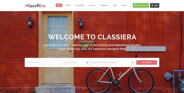 ClassiEra- Classified Ads PSD Template
