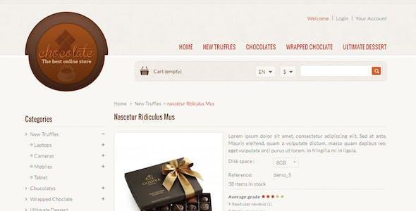 Chocolate - Prestashop Responsive Theme