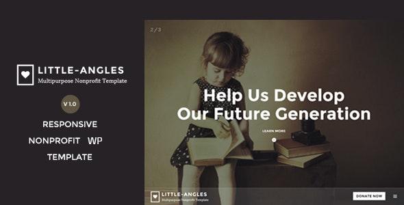 Angel - Nonprofit Charity WordPress Theme - Charity Nonprofit