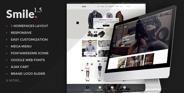 Smile - Premium Responsive Magento Theme - Magento eCommerce