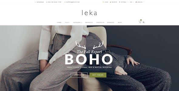 Leka - Ecommerce HTML Responsive Template
