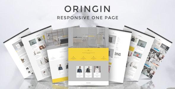 Oringin - Onepage Drupal 7.6 Theme - Corporate Drupal