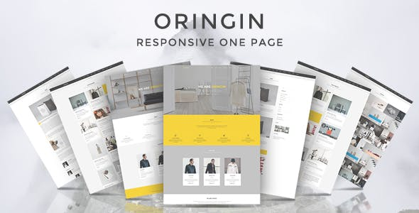 Oringin - Onepage Drupal 7.6 Theme