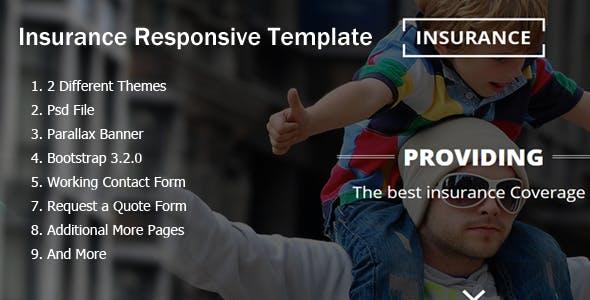 Insurance Responsive HTML5 Template