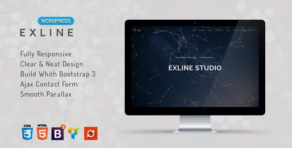 Exline | One Page Multipurpose WordPress Theme - Marketing Corporate
