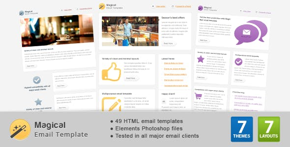 Magical Email Template