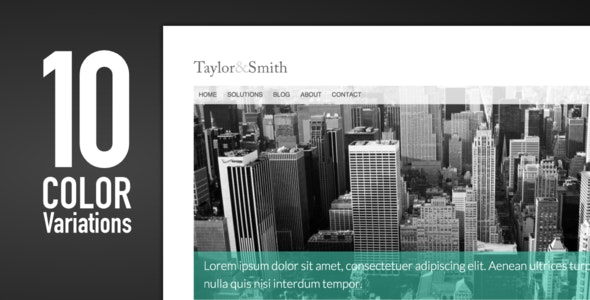 Corporate - A clean business template - Business Corporate