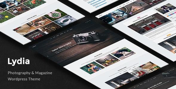 Lydia - Photography & Magazine WordPress Theme - Photography Creative