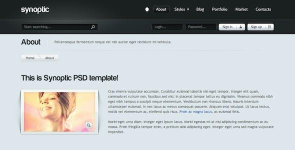 Synoptic Premium HTML & CSS3 Template