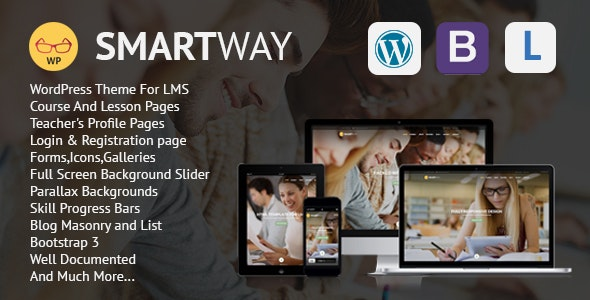 Smartway - Learning & Courses WordPress Theme - Education WordPress