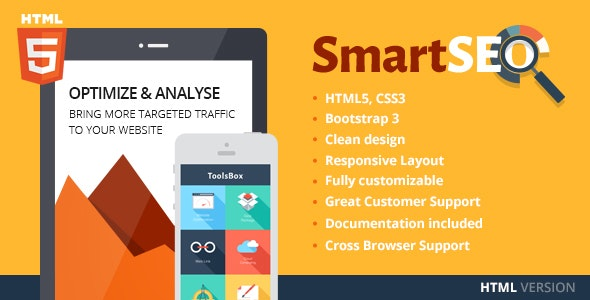 SmartSEO | SEO & Marketing HTML Theme - Marketing Corporate