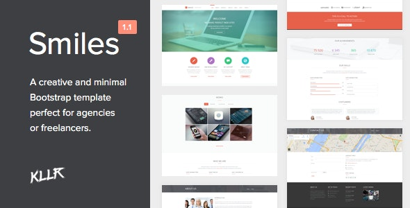 Smiles - Responsive Multi-purpose HTML Template - Creative Site Templates