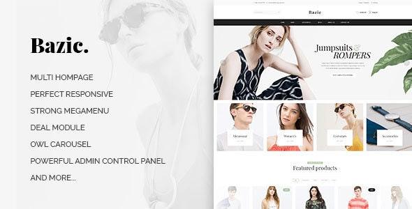 Leo Bazic Responsive Prestashop Theme - PrestaShop eCommerce