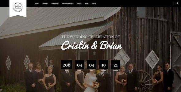 Wedding Emotions - WordPress Theme