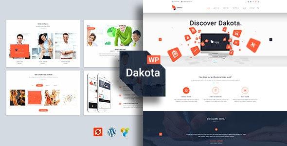 Dakota - Multi-Purpose Business WordPress Theme - Business Corporate