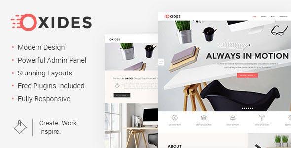 Oxit - Một Theme Creative Studio dành cho Doanh nhân