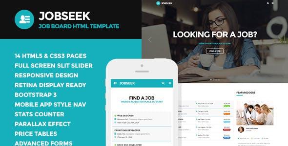 Jobseek - Job Board HTML Template