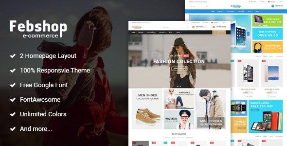 Febshop - Multipurpose Responsive Magento Theme - Magento eCommerce