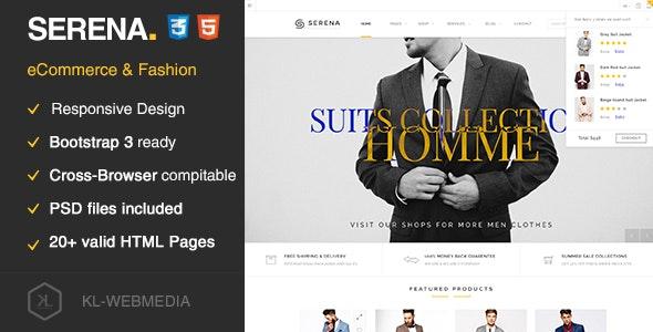 Serena - eCommerce Fashion Template HTML5 - Fashion Retail