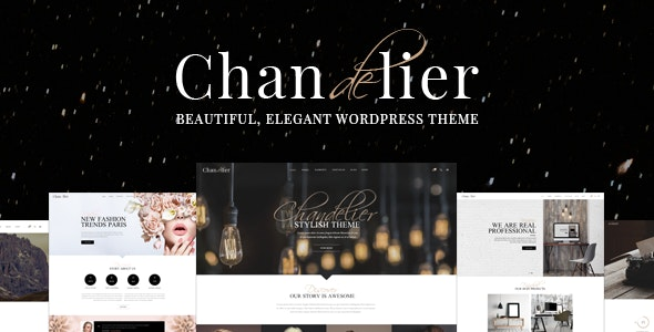 Chandelier - Luxury Theme for Custom Brands - Creative WordPress