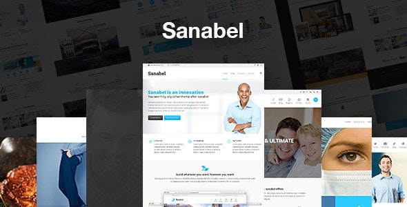 Sanabel - Corporate Theme - Business Corporate