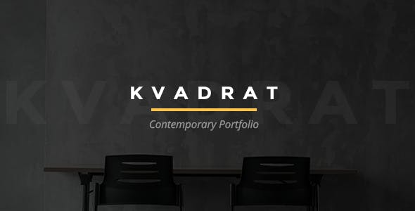 Kvadrat - Portfolio Contemporary