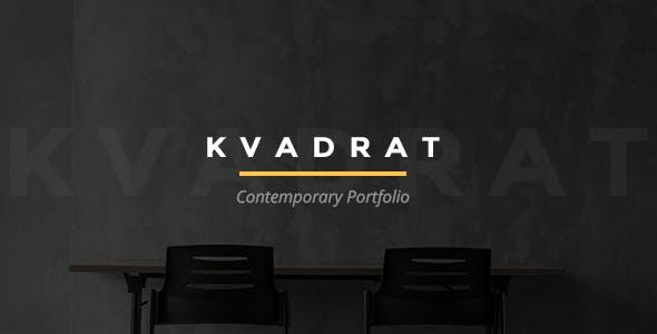 Kvadrat - Contemporary Portfolio