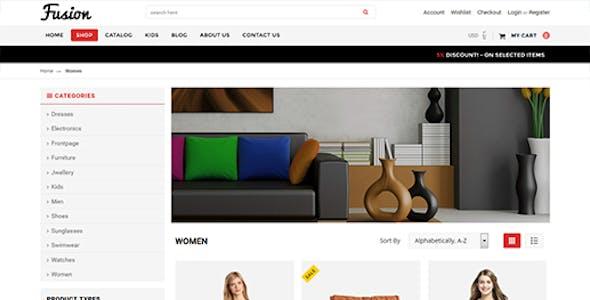 Fusion - Responsive Shopify Theme