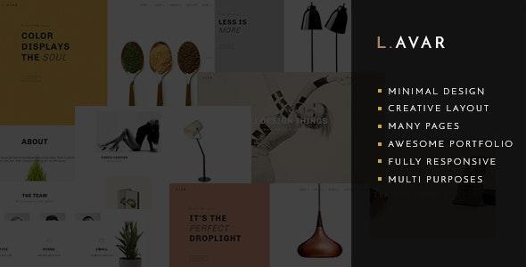 Lavar - Creative Portfolio & Agency Theme - Portfolio Creative