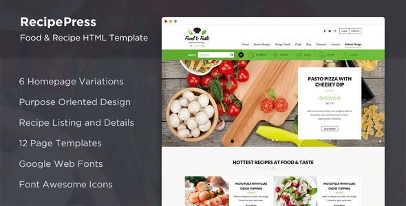 Template For Recipes from themeforest.img.customer.envatousercontent.com