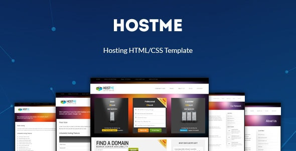 Hostme - Premium Hosting & Business Template - Hosting Technology