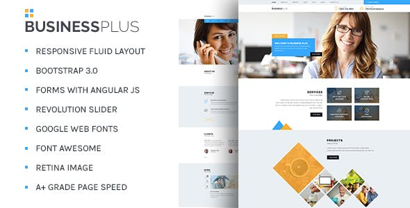 BusinessPlus - Corporate Business HTML5 Template