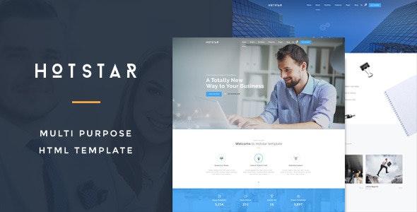 HotStar – Multi-Purpose HTML5 Template - Business Corporate