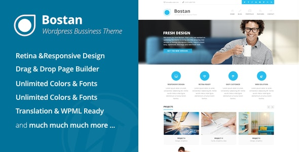 Bostan - Business Theme - Business Corporate