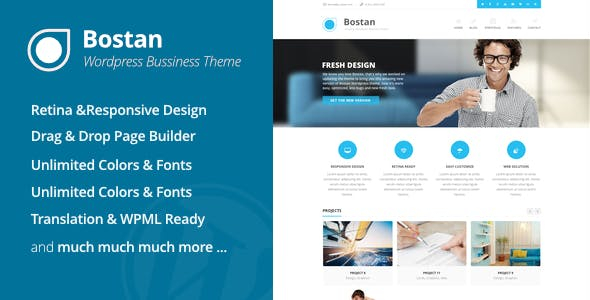 Bostan - Business Theme