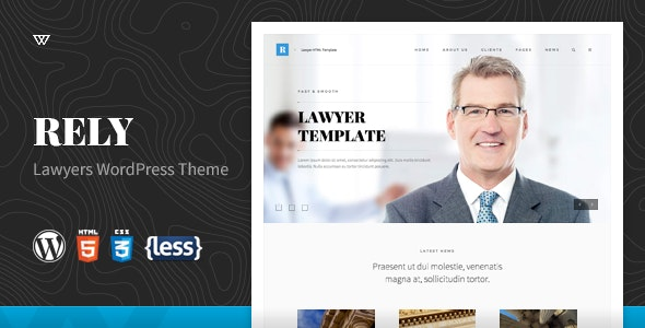 Rely - Lawyers WordPress Theme - Business Corporate