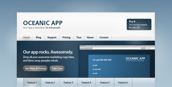 Oceanic: Web app site - Software Technology