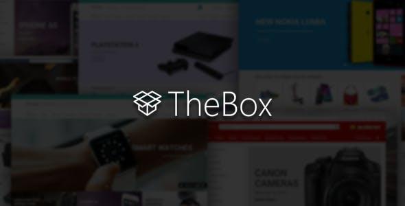 TheBox - Ultimate E-Commerce Template