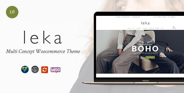 Leka - Amazing WooCommerce Theme - WooCommerce eCommerce