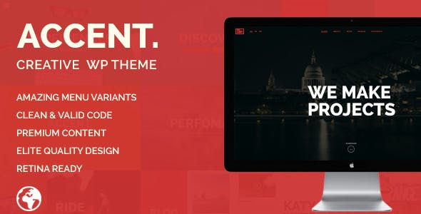 Accent — Creative Responsive WordPress Theme