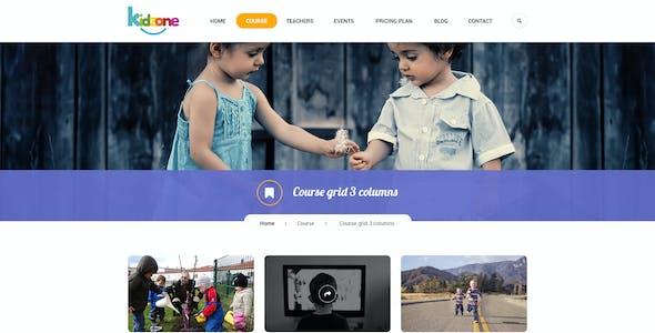Kidzone - Children Kindergartent HTML