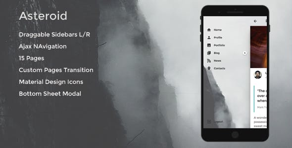 Mobile Native Web Templates Website Templates from ThemeForest